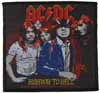 AC/DC】 HIGHWAY TO HELL PATCH オフィシャル刺繍ワッペン エーシーディーシー ACDC
