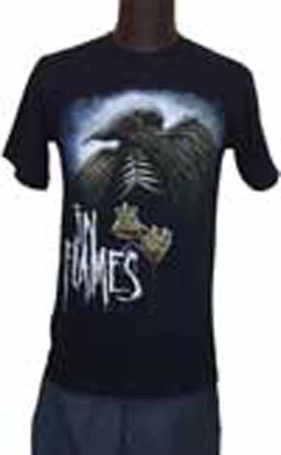 【IN FLAMES】RAVEN CANADA FESTIVAL バックプリントありTシャツ