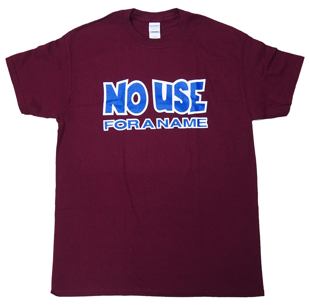 NO USE FOR A NAME・ノーユーズフォーアネーム・LOGO・Tシャツ・ロックTシャツ