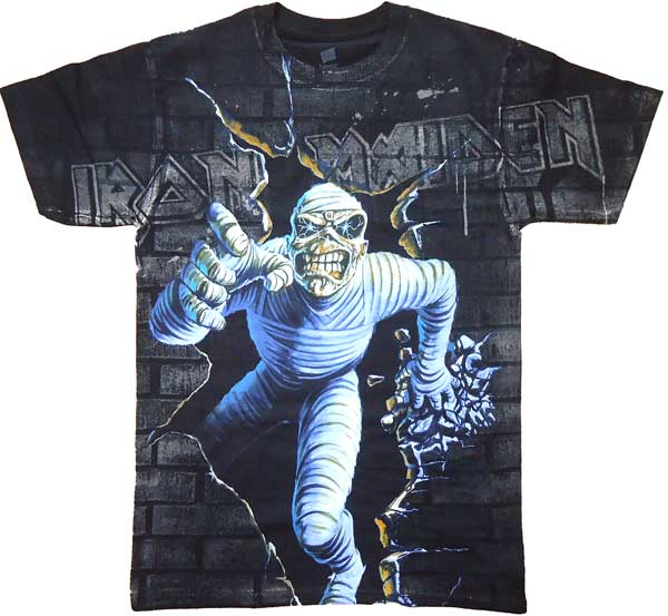【IRON MAIDEN】MUMMY BRAKE AO バンドTシャツ