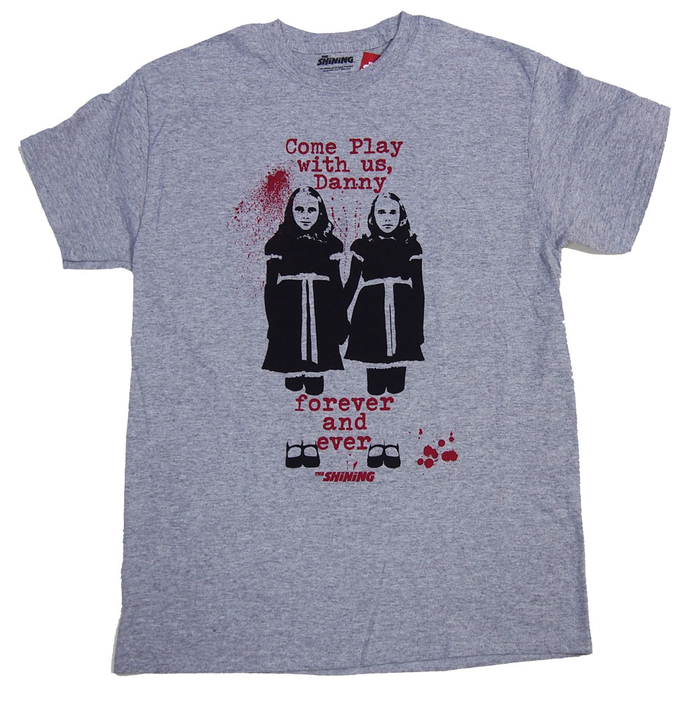 THE SHINING・シャイニング・ COME PLAY WITH US Tシャツ・ 映画Tシャツ