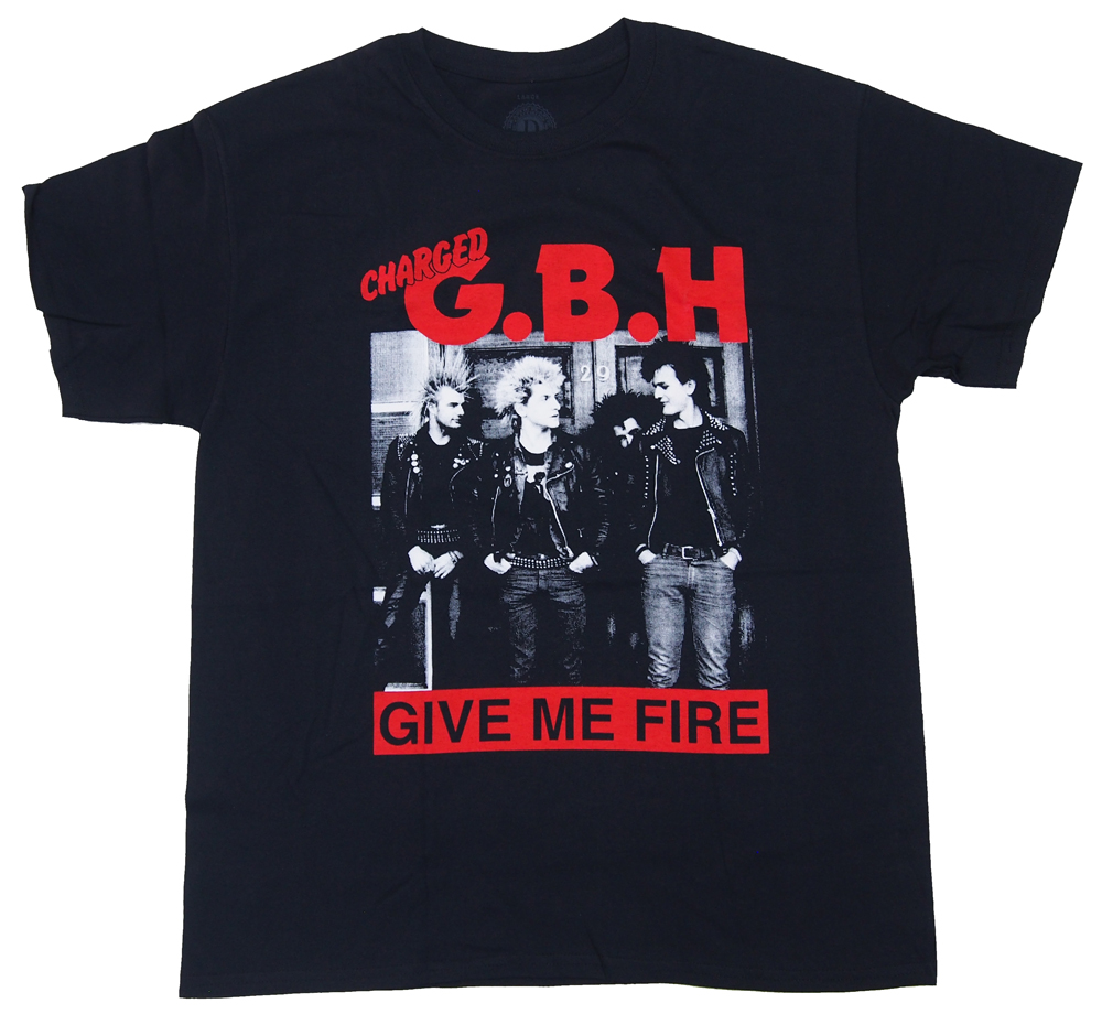 GBH・G.B.H. ・GIVE ME FIRE Tシャツ・バンドTシャツ