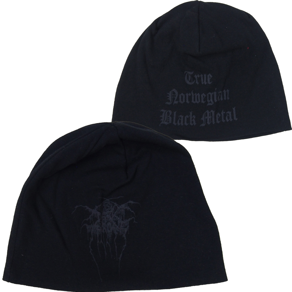 ダーク スローン・DARK THRONE・TRUE NORWEGIAN BLACK METAL JERSEY BEANIE・ビーニー・ニットキャップ