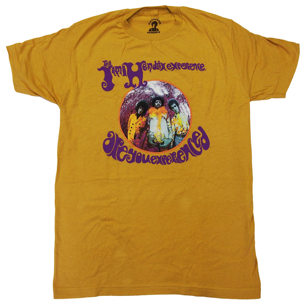 JIMI HENDRIX・ジミヘンドリクス・ARE YOU EXPERIENCED・Tシャツ・ロックTシャツ