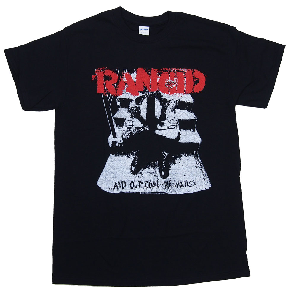 RANCID・ ランシド・AND OUT COME THE WOLVES・Tシャツ・ バンドTシャツ