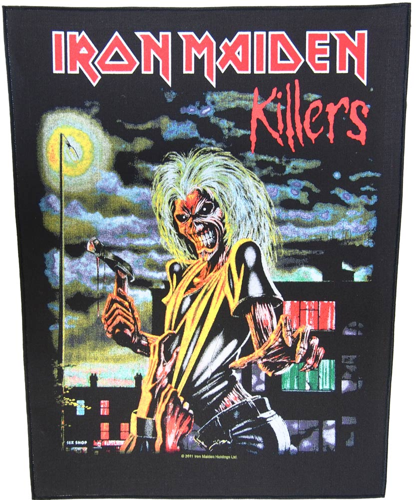 【IRON MAIDEN】KILLERS BACK PATCH バックパッチ