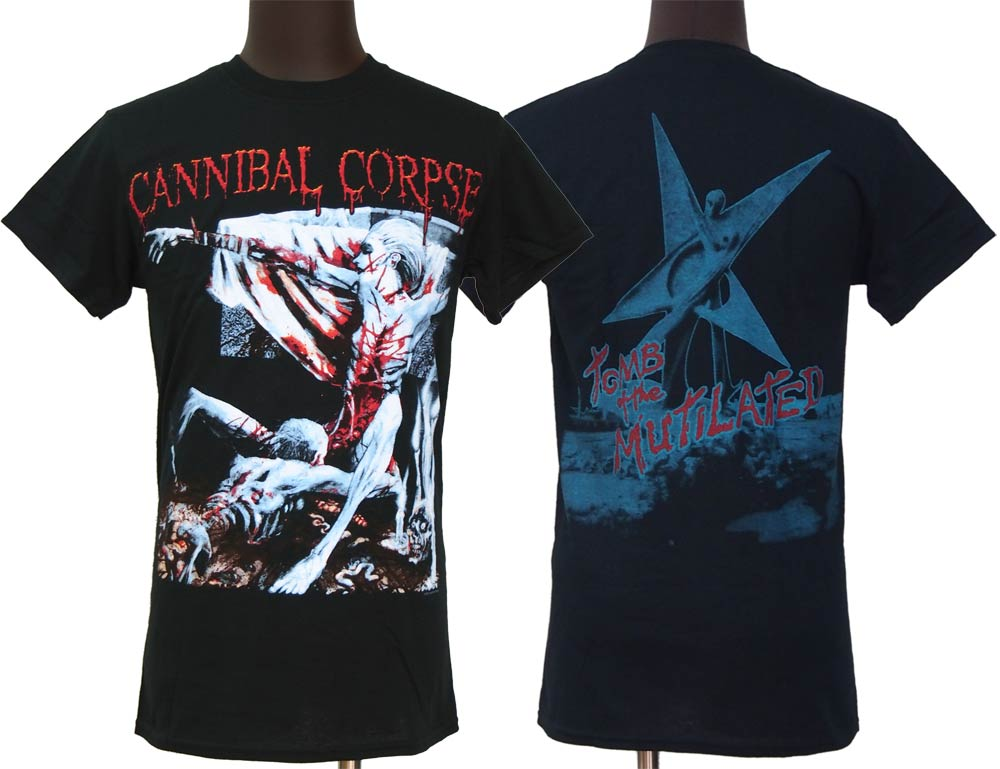 【CANNIBAL CORPSE】TOMB OF MUTILATED Tシャツ