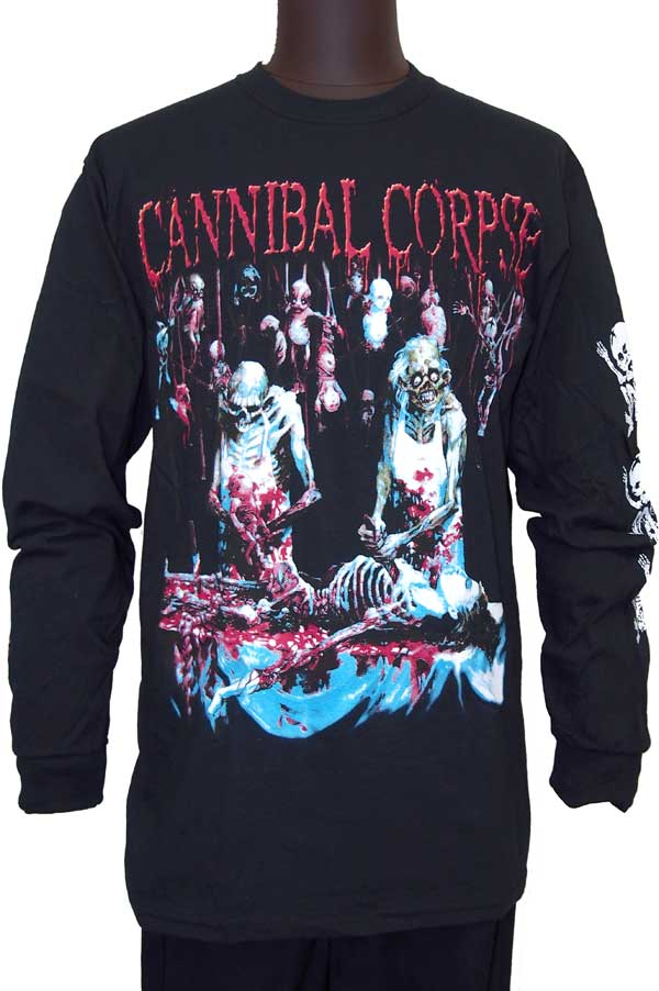 【CANNIBAL CORPSE】BUTCHER AT BIRTH ロングスリーブTシャツ