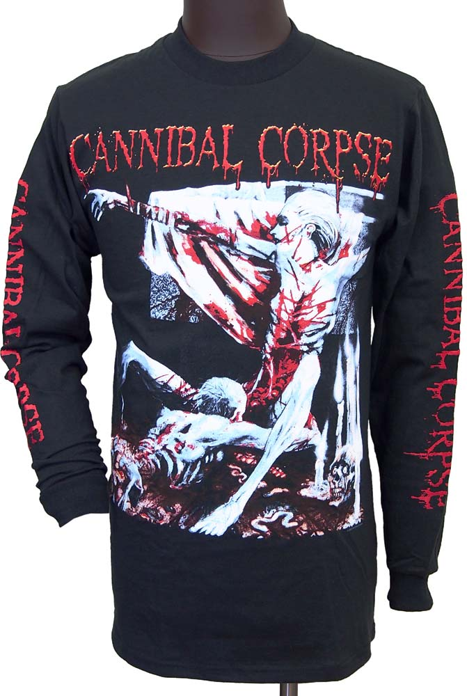 【CANNIBAL CORPSE】TOMB OF THE MUTILATED ロングスリーブTシャツ