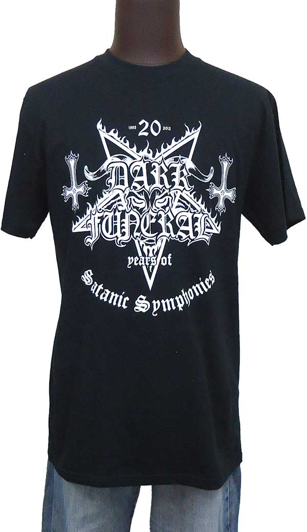 【DARK FUNERAL】20 YEARS OF SATANIC SYMPHONIES バンドTシャツ
