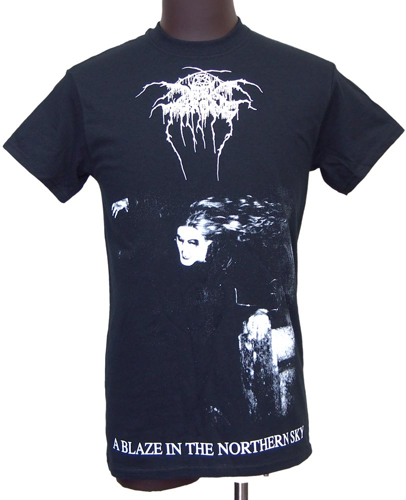【DARKTHRONE】A BLAZE IN THE NORTHERN SKY バンドTシャツ