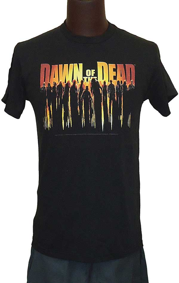 【DAWN OF THE DEAD】WALKING DEAD  映画Tシャツ