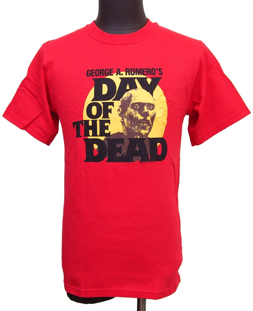 【DAY OF THE DEAD】RED TEE ムービーTシャツ