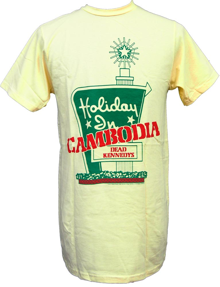 【DEAD KENNEDYS】HOLIDAY IN CAMBODIA  バンドTシャツ デッドケネディーズ