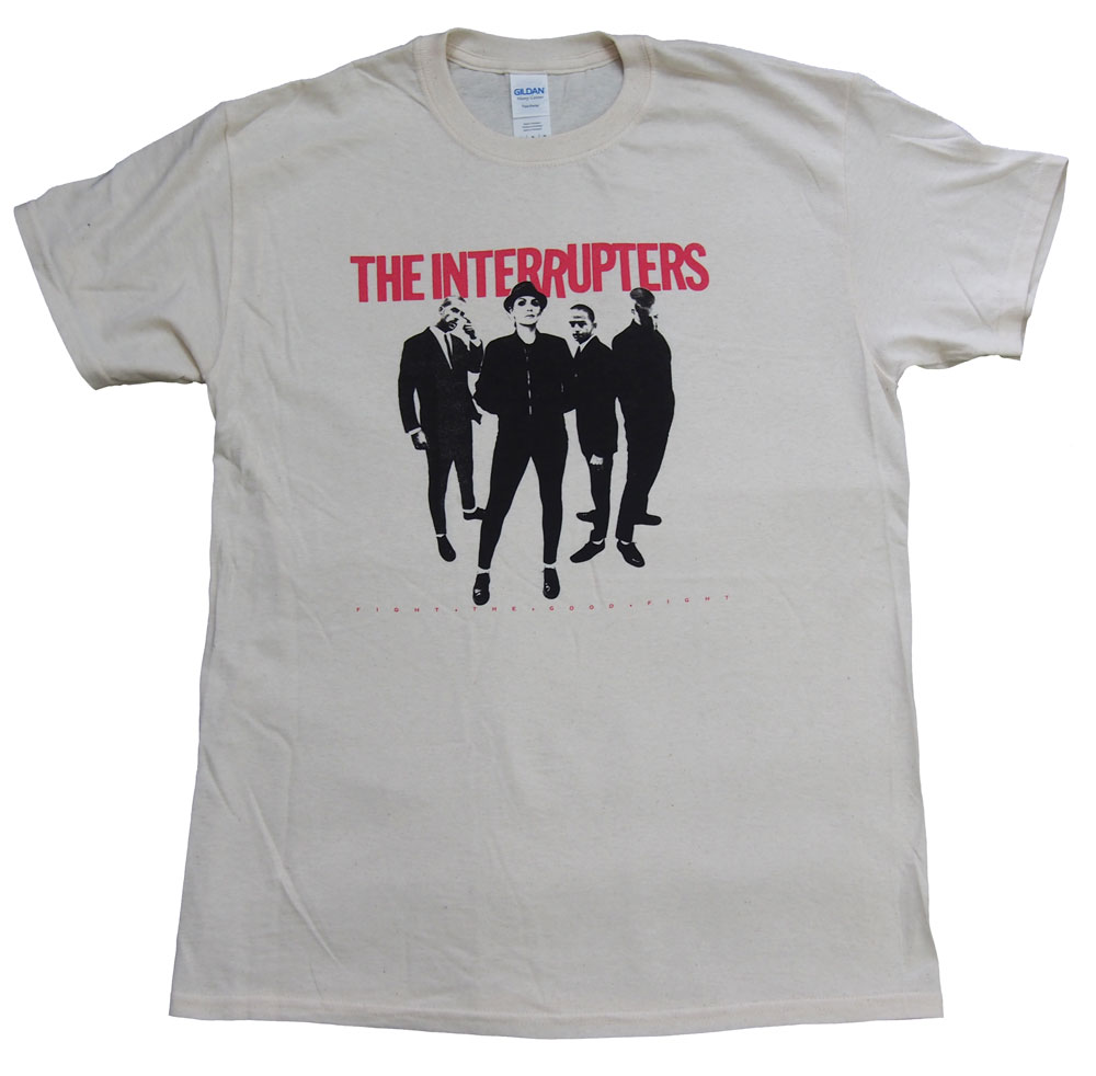 THE INTERRUPTERS・インタラプターズ・FIGHT THE GOOD FIGHT・Tシャツ・ロックTシャツ