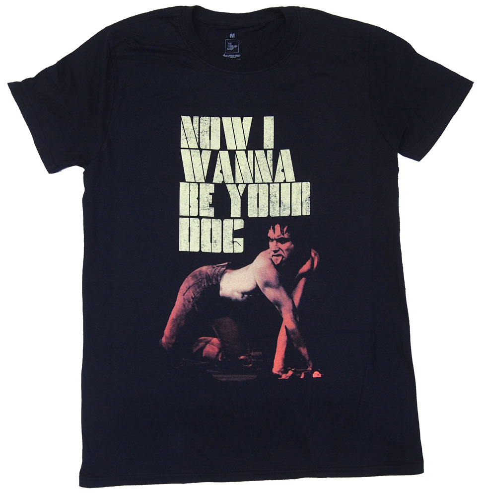 THE STOOGES・ザ ストゥージス ・WANNA BE YOUR DOG・Tシャツ・ ロックTシャツ[XL]