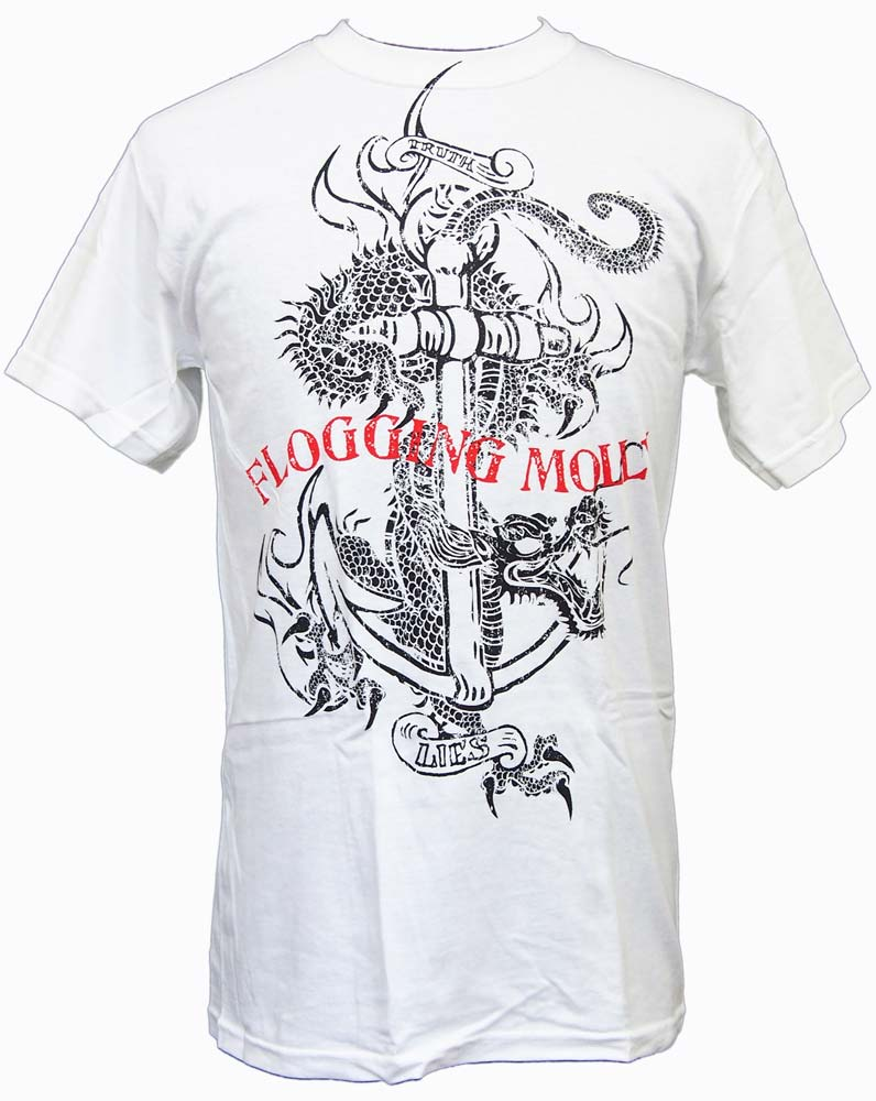 【FLOGGING MOLLY】DRAGON ANCHOR DISTRESSED バンドTシャツ