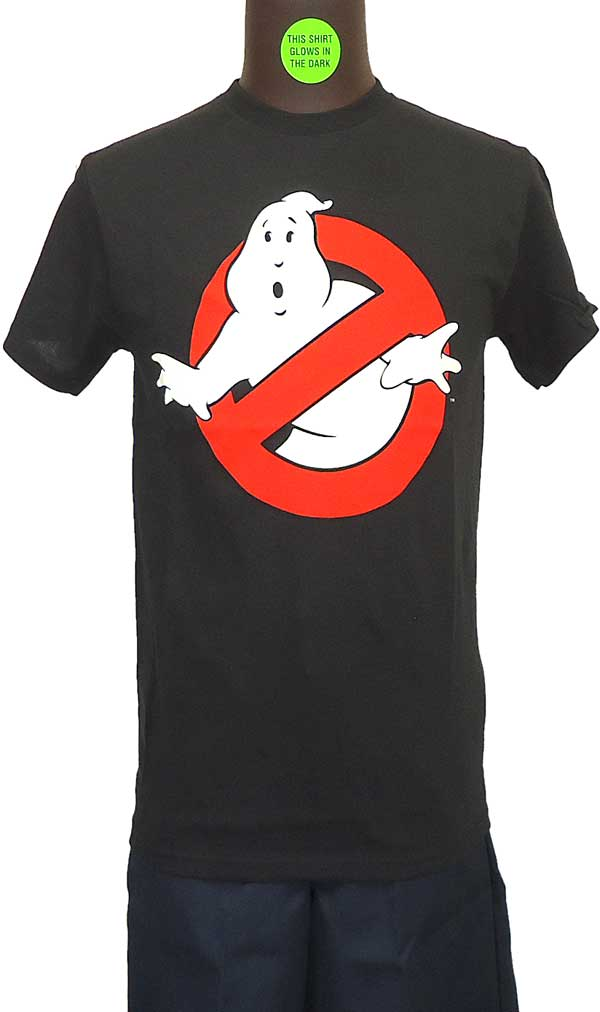 【GHOSTBUSTERS】LOGO (GLOW IN THE DARK) Tシャツ