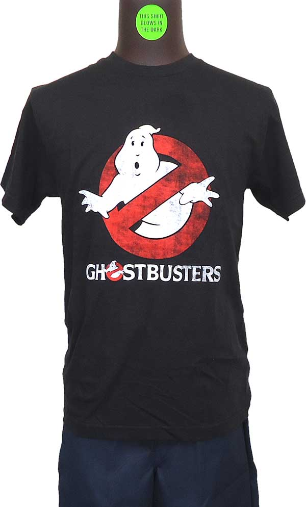 【GHOSTBUSTERS】LOGO TO GO (GLOW IN THE DARK) Tシャツ