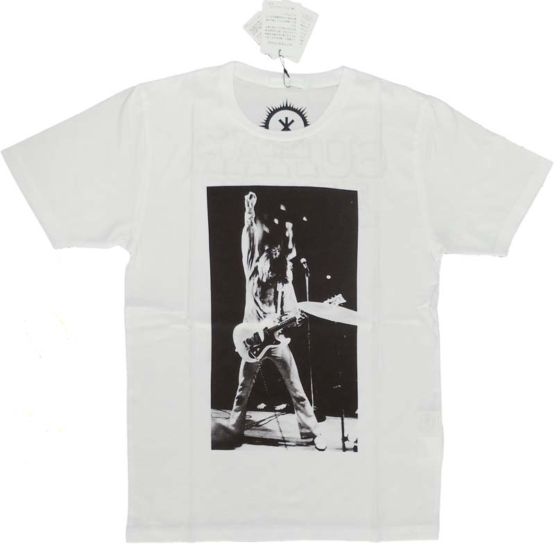 【HYSTERIC GLAMOUR】GUITER ARMY Tシャツ クリーム THEE HYSTERIC XXX 正規品