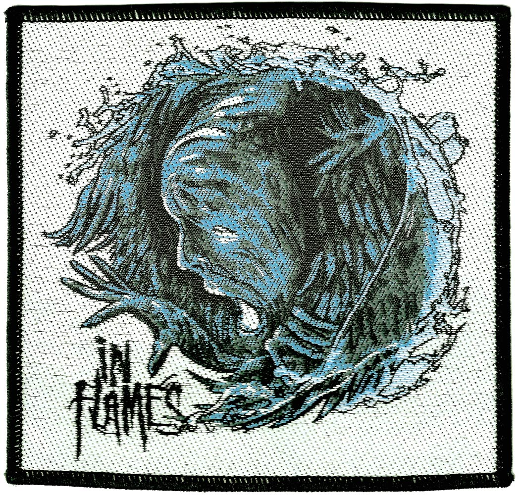 IN FLAMES インフレイムス SIREN CHARMS PATCH 糊無し 刺繍パッチ オフィシャル パッチ