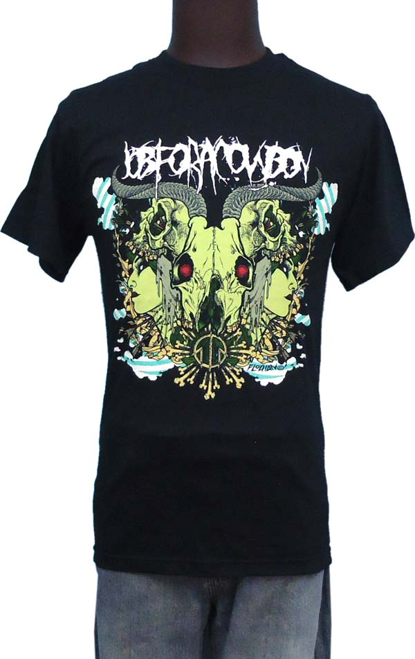【JOB FOR A COWBOY】RORSCHACH バンドTシャツ