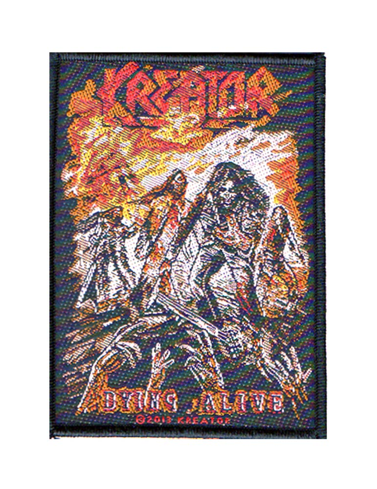 【KREATOR】DYING ALIVE PATCH 刺繍ワッペン クリーター パッチ