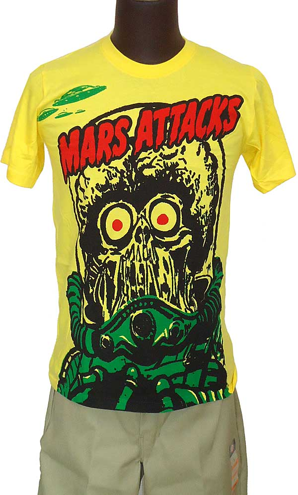 【MARS ATTACKS】MARTIAN BIG PURINT 映画Tシャツ