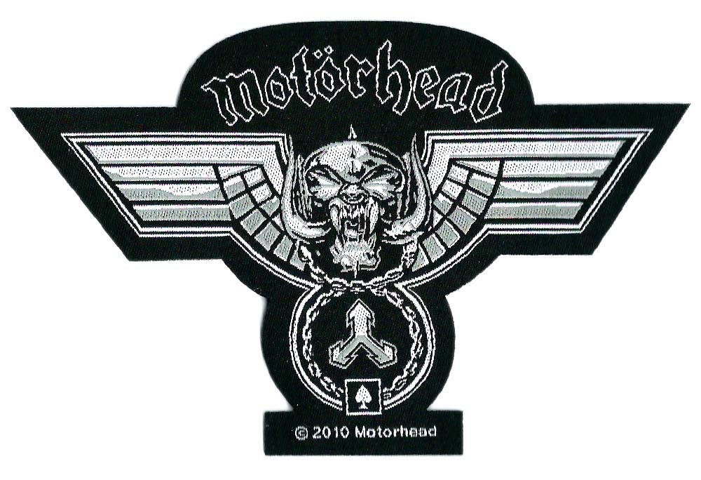 【MOTORHEAD】HAMMER CUT OUT 糊なしPATCH