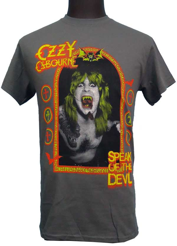 【OZZY OSBOURNE】SPEAK OF THE DEVIL   Tシャツ