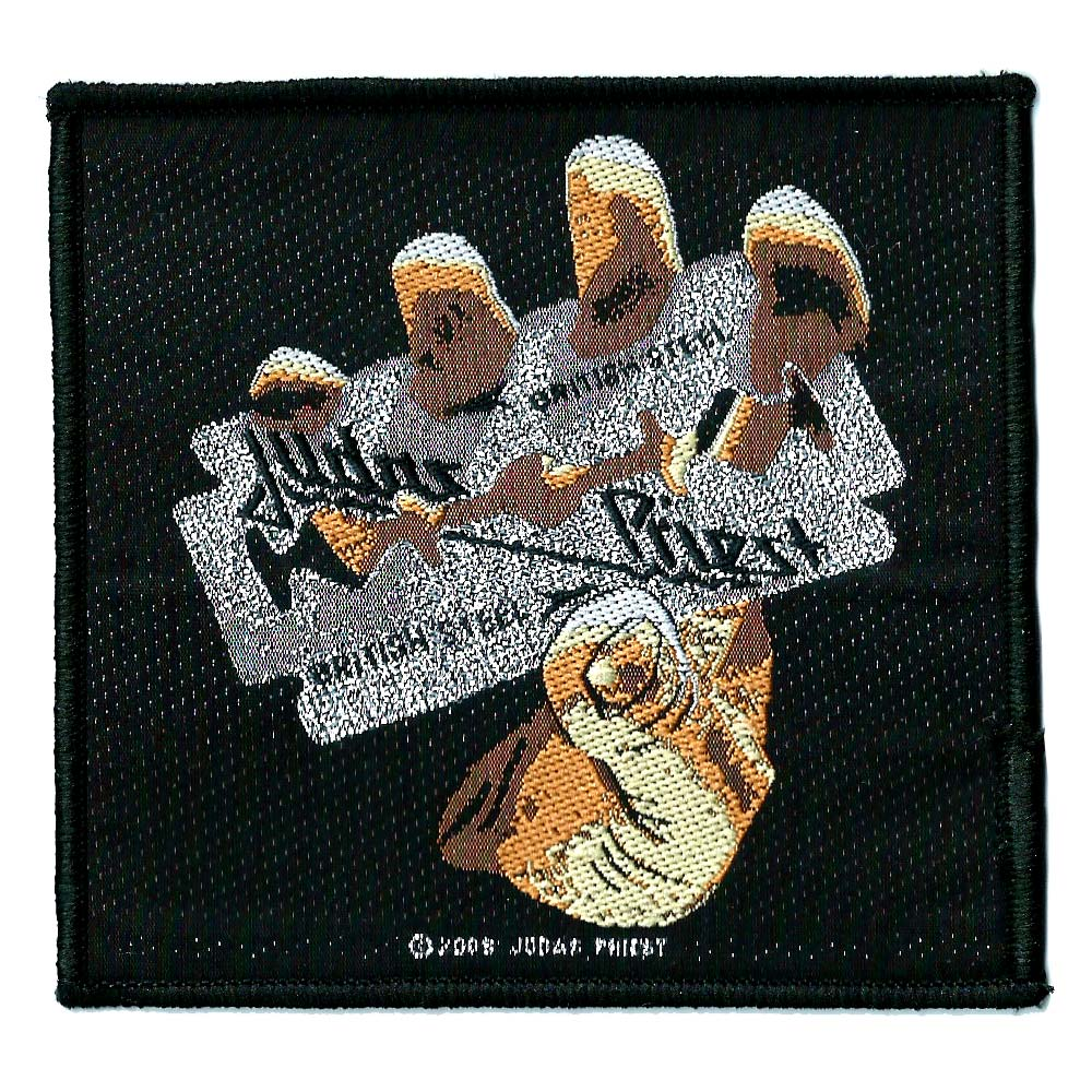 【JUDAS PRIEST】STELL PATCH  糊無し刺繍パッチ