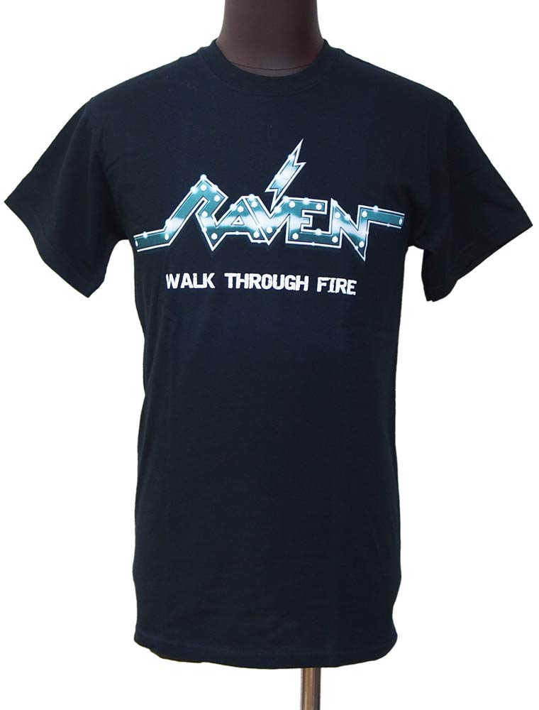 【RAVEN】WALK THROUGH FIRE バンドTシャツ
