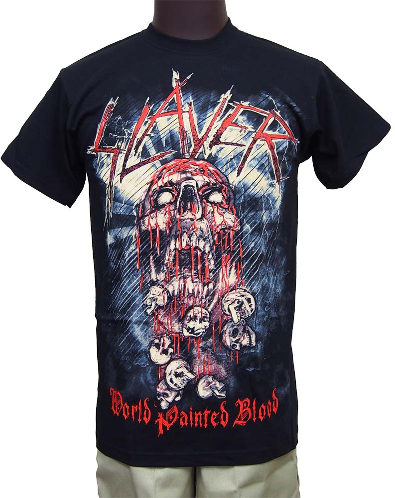 【SLAYER 】WOLD PAINTED BLOOD ロックTシャツ スレイヤー