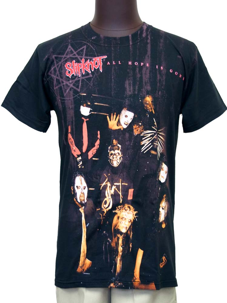 【SLIPKNOT】JUMBO SEPIA ALL OVER Tシャツ スリップノット