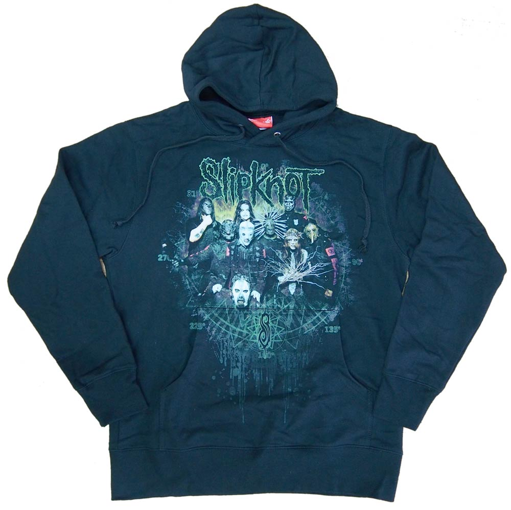 【SLIPKNOT】DISTRESSED CIRCLE  カブリパーカー