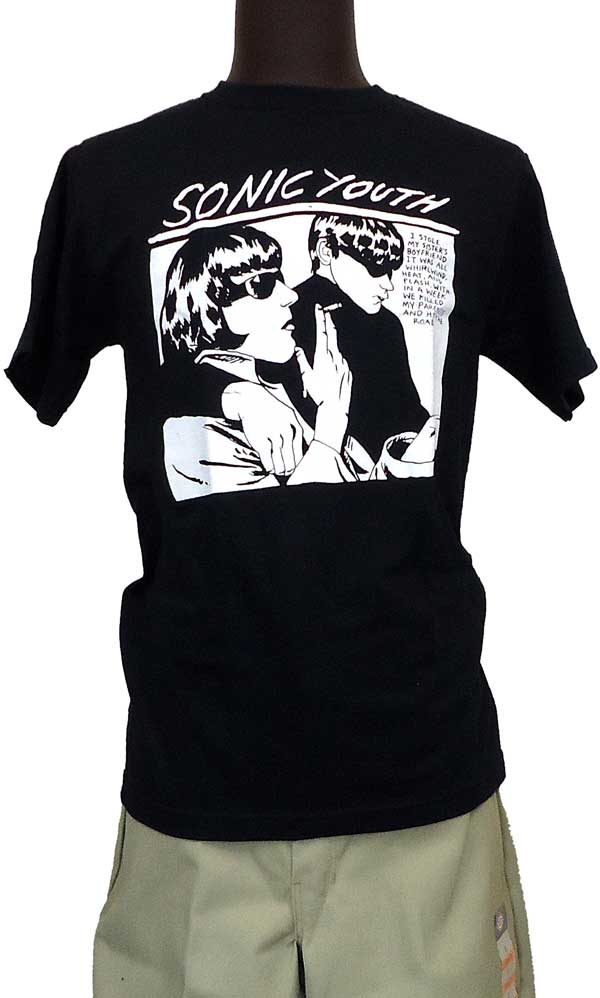 【SONIC YOUTH】 GOO BLACK バンドTシャツ