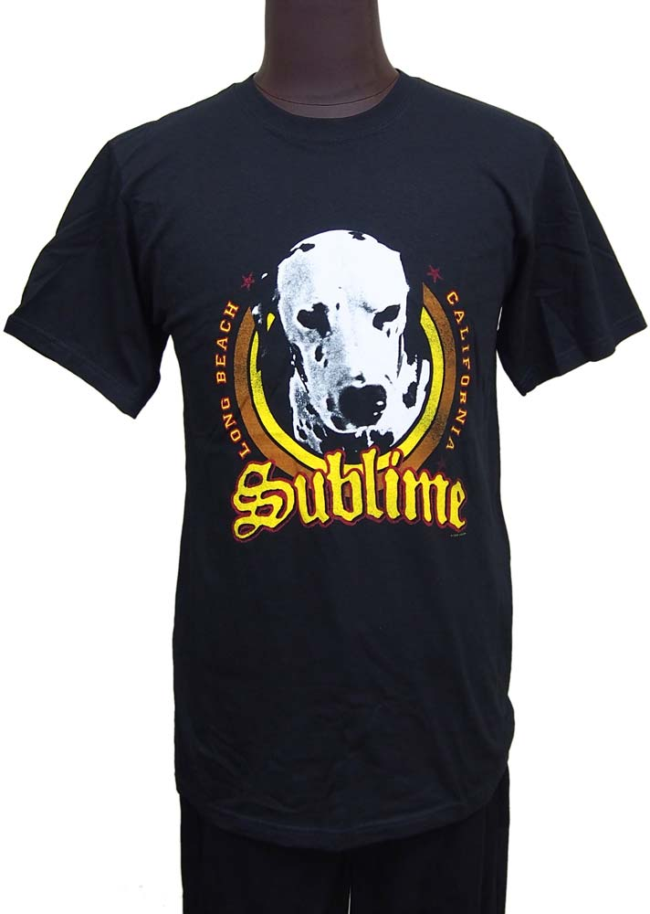 【SUBLIME】CIRCLE LOU DOG バンドTシャツ