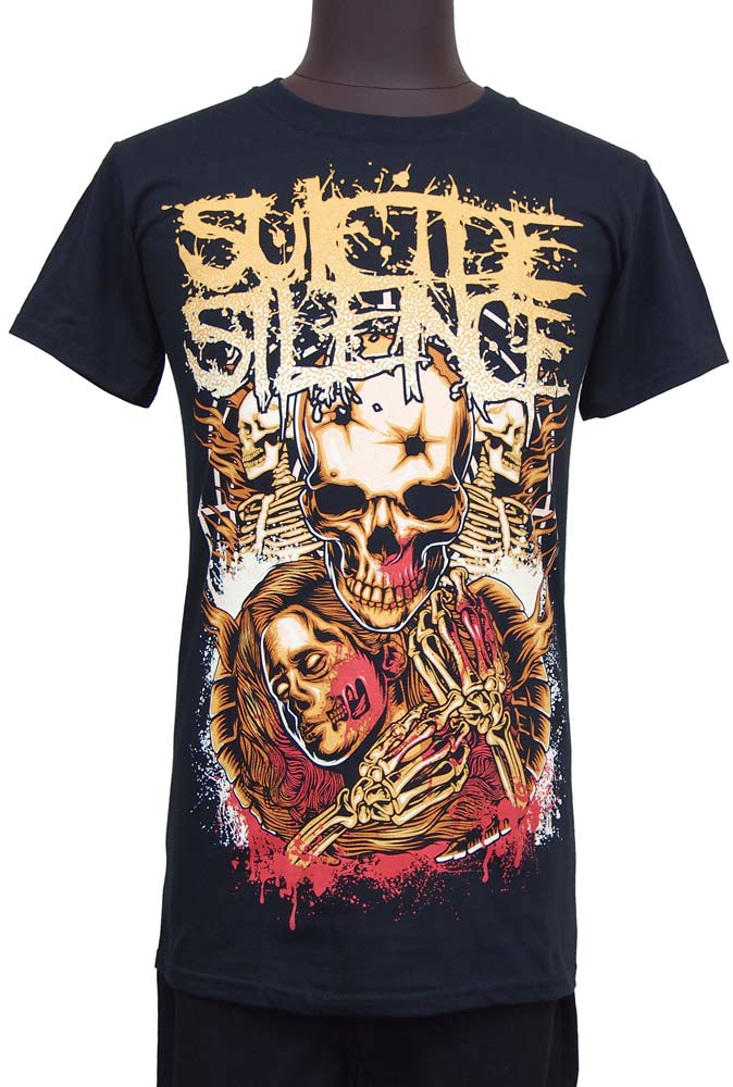 【SUICIDE SILENCE】LOVE LOST ロックTシャツ スーサイド サイレンス