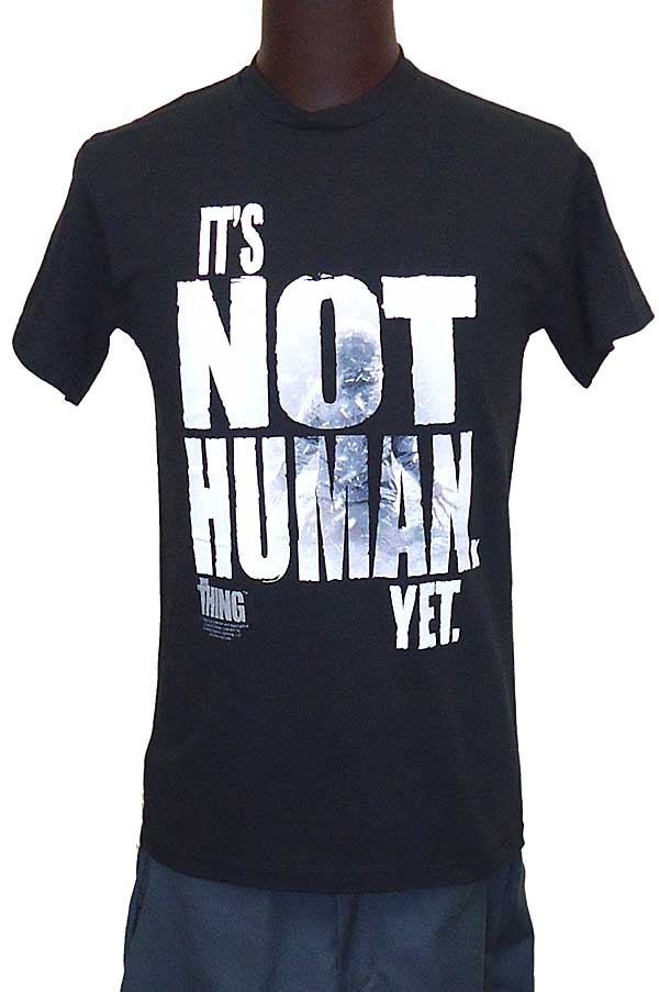 【THE THING】 NOT HUMAN 映画Tシャツ