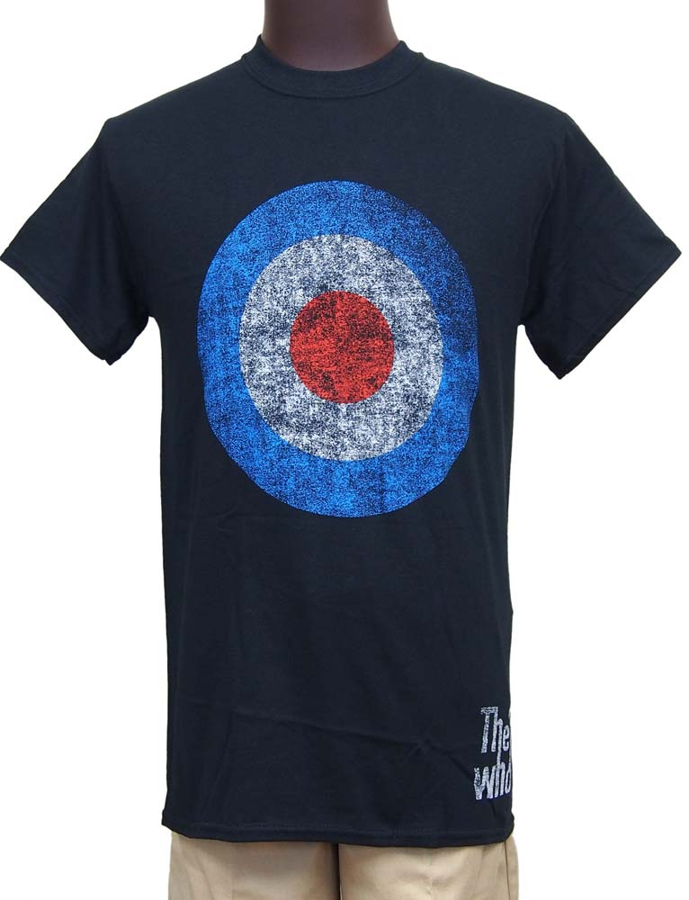 【THE WHO】TARGET DISTRESSED バンドTシャツ ザ・フー
