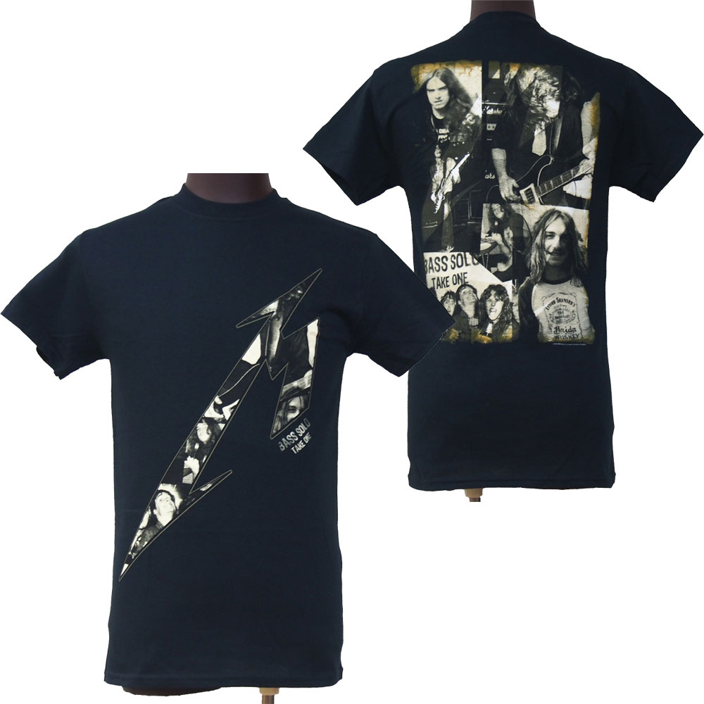 METALLICA メタリカ KILL EM ALL INLAY CLIFF BURTON Tシャツ、ロックTシャツ