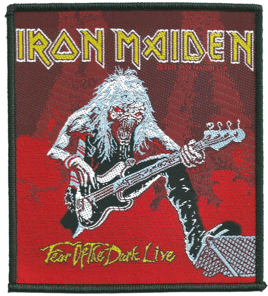 【IRON MAIDEN】 FEAR OF THE DARK LIVE PATCH