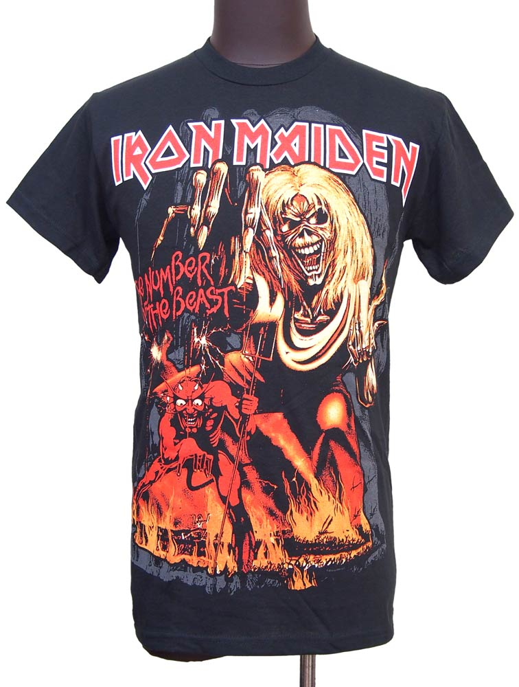 【IRON MAIDEN】NUMBER OF THE BEAST バンドTシャツ